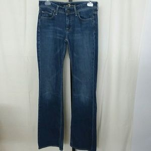 "7 for all mankind sz. 26"" flynt style"